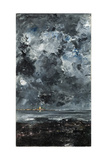 The Town Giclee Print by August Strindberg
