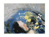Drowning of Ophelia Giclee Print by Odilon Redon