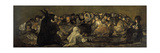 Witches' Sabbath or the Great He-Goat Giclee Print by Francisco de Goya