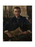 Portrait of Wolfgang Gurlitt Giclee Print by Lovis Corinth
