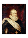 King Henry IV of France Giclee Print by Frans Francken the Younger