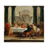 The Last Supper Giclee Print by Giambattista Tiepolo