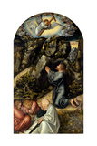The Agony in the Garden, C. 1520 Giclee Print by Lucas Cranach the Elder