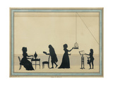 Family Mozart, C. 1763 Giclee Print by Louis Carmontelle