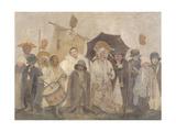 La Vachalcade Giclee Print by Fernand Pelez