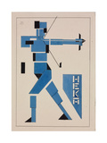 Design for Poster Giclee-trykk av Theo Van Doesburg