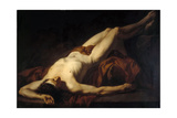 Male Nude (Hecto) Giclee Print by Jacques Louis David