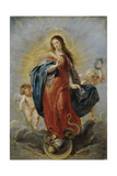The Immaculate Conception, Ca. 1628-1629 Giclee Print by Pieter Paul Rubens