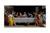 La última cena Lámina giclée por Philippe De Champaigne