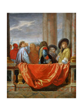 The Different Nations of Europe Giclee Print by Charles Le Brun