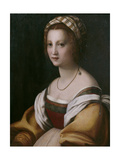Portrait of a Woman Giclee Print by  Andrea del Sarto