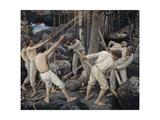 Pioneers in Karelia Giclee Print by Pekka Halonen