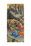The Lamentation over Christ Giclée-tryk af Lorenzo Monaco