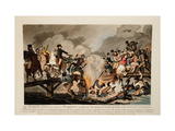 French Army Crossing the Berezina in November 1812, 1813 Giclee Print by John Hassell