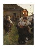Midsummer Dance Giclée-tryk af Anders Leonard Zorn