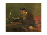 Charles Baudelaire (1821-186), 1848 Giclee Print by Gustave Courbet