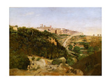 Volterra Giclee Print by Jean-Baptiste Camille Corot