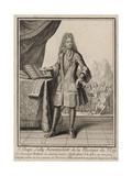 Jean-Baptiste Lully Giclee Print by Henri Bonnart