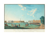 The Marble Palace in Saint Petersburg, C. 1800 Giclee Print by Benjamin Paterssen