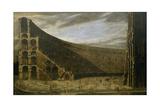 Perspective of a Roman Amphitheatre Giclee Print by Domenico Gargiulo