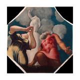 Deucalion and Pyrrha Giclee Print