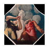 Deucalion and Pyrrha Giclee Print by Jacopo Tintoretto