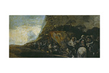Procession of the Holy Office Giclee Print by Francisco de Goya