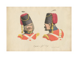 The Cossack Uniform, 1820 Giclee Print by Rudolph Ackermann