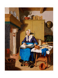 Old Woman Giclee Print by Jean-Étienne Liotard