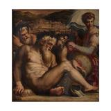 Allegory of Pescia, 1563-1565 Giclee Print by Giorgio Vasari