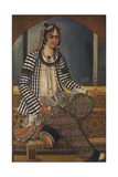 Portrait of a Lady Giclee Print by Mirza Baba