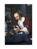 Girl with Oysters Giclee Print by Jan Havicksz Steen