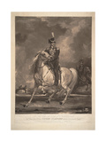 Portrait of Count Matvei Ivanovich Platov (1757-181), 1815 Giclee Print by Thomas Phillips