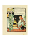Illustration for Fairy Tale Cinderella Giclee Print by Walter Crane