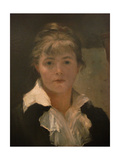 Self-Portrait (Detail) Giclee Print by Maria Konstantinovna Bashkirtseva