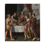 The First Passover Feast Giclee Print by Huybrecht Beuckelaer