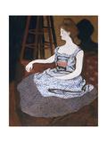 Misia Godebska-Natanson Giclee Print by Felix Edouard Vallotton