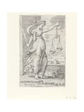 Justitia (Justice) Giclee Print by Cornelis Massys