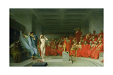 Phryne before the Areopagus Giclee Print