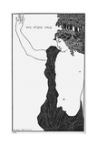 Ave Atque Vale (Hail and Farewel) Giclee Print by Aubrey Beardsley