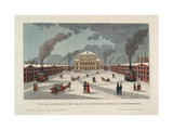 The Saint Petersburg Imperial Bolshoi Kamenny Theatre, C. 1811 Giclee Print by Henri Courvoisier-Voisin