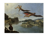 The Fall of Icarus Giclee Print by Carlo Saraceni