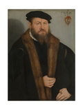 Portrait of a Man, 1557 Giclee Print by Lucas Cranach the Younger