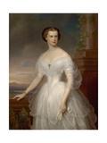 Portrait of Elisabeth of Bavaria Giclee Print by Franz Schrotzberg