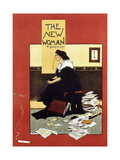 The New Woman, 1895 Giclee Print by Albert Morrow