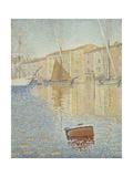Red Buoy (La Bouée Roug) Giclee Print by Paul Signac