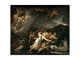 The Hunt of Diana Giclee Print by Luca Giordano
