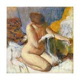 La Sortie Du Bain Giclee Print by Edgar Degas