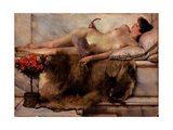 In the Tepidarium Giclee Print by Lawrence Alma-Tadema