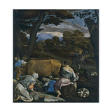 The Parable of the Sower Giclee Print by Jacopo Bassano